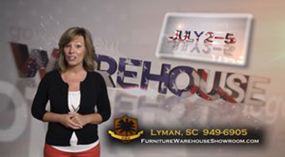 Furniture Warehouse Showroom 4th of July