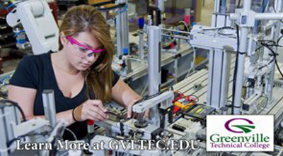 Greenville Tech Advanced manufacturing